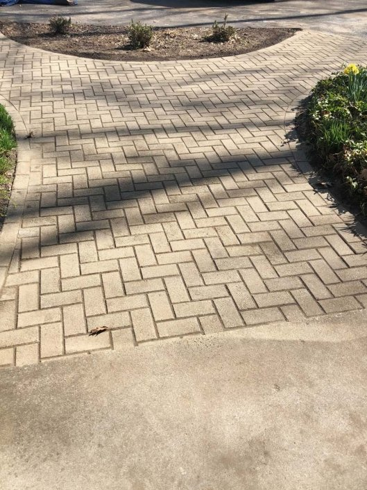 stone paved walkway contractor