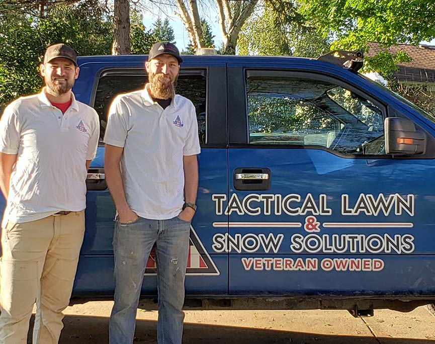 veteran owned landscaping business